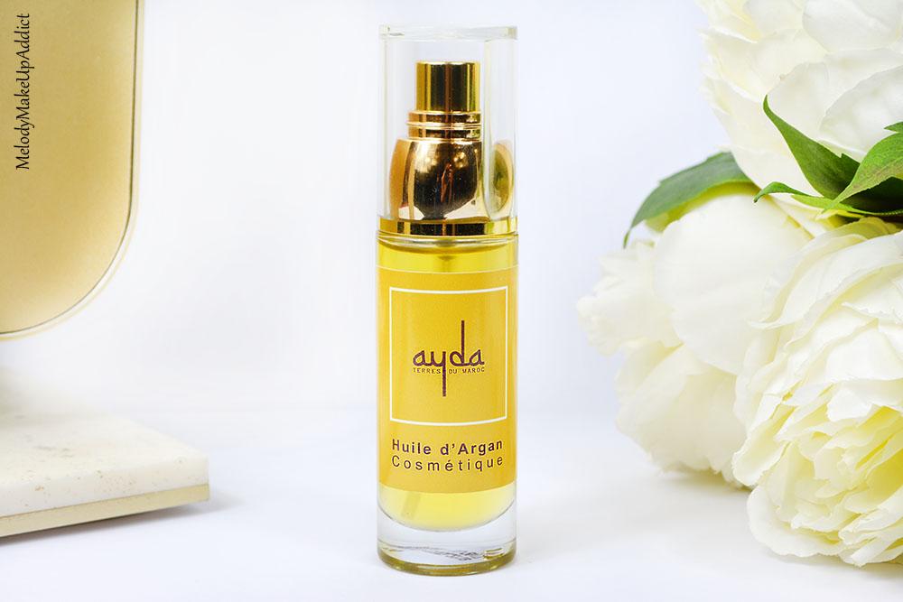 Les bienfaits de l'huile d'argan Ayda