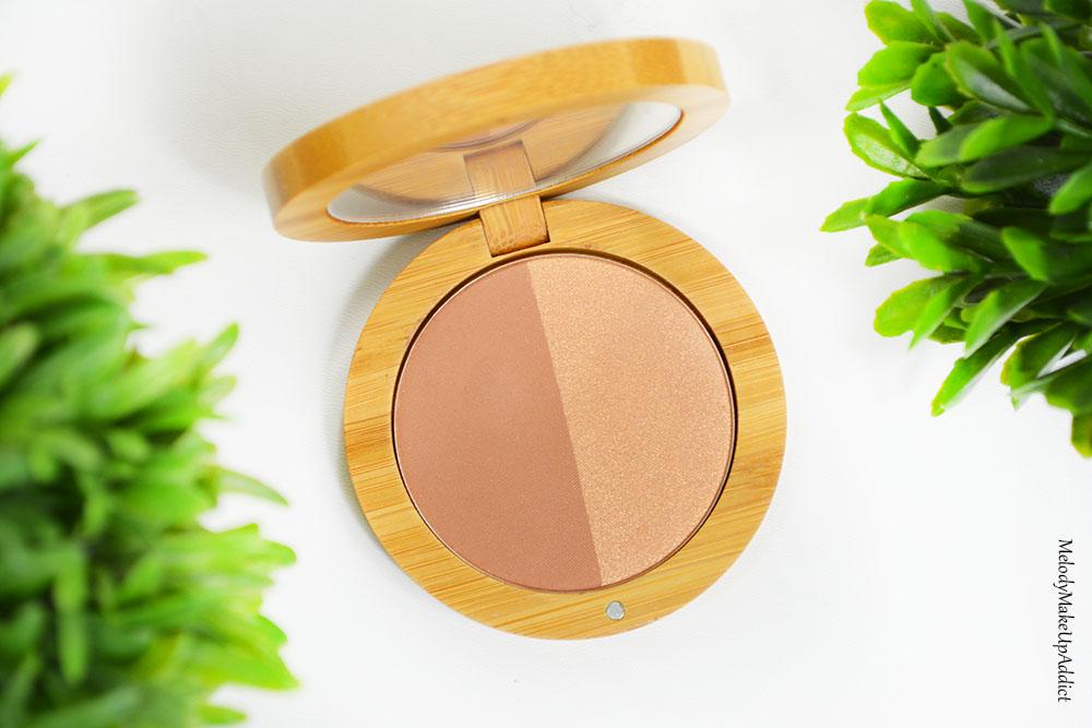 Un joli teint halé grâce à la poudre bronzante bio Tan Organic