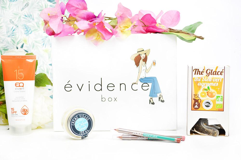 Découverte de la toute nouvelle box beauté bio : la Box Évidence