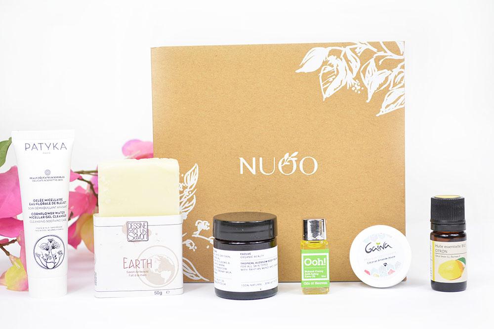 La Nuoo Box de juillet (+code promo et concours)