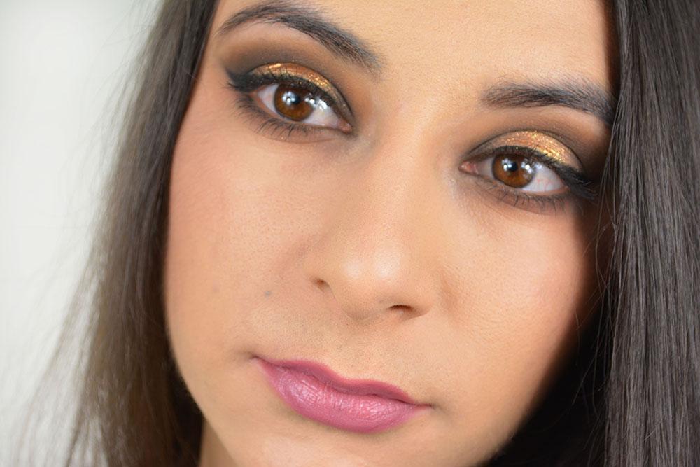 Mon maquillage pour les fêtes