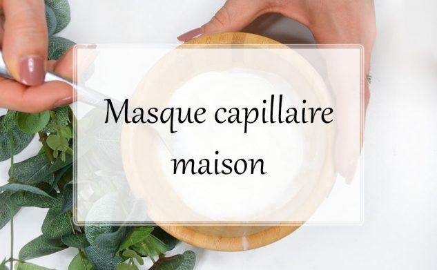 Recette masque capillaire maison avec deux ingrédients de votre cuisine !