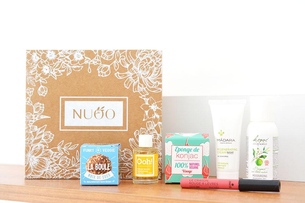 La Nuoo Box du mois de juillet
