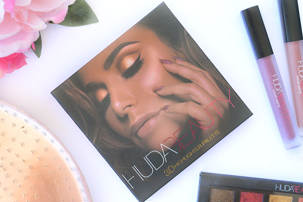 La 3D Highlighter Palette de la marque Huda Beauty