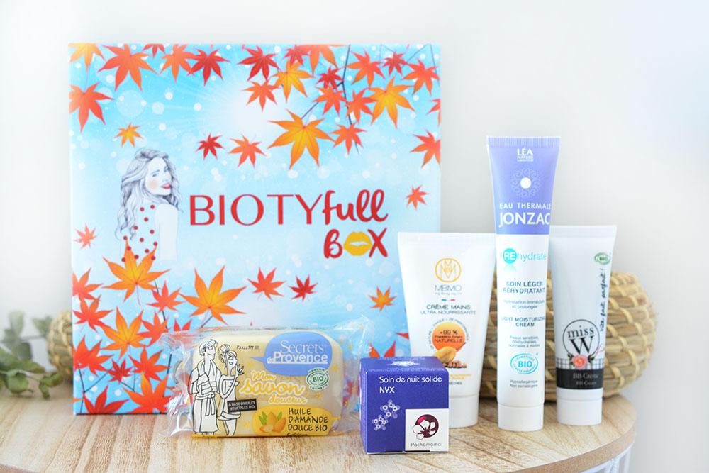 L'automnale, la Biotyfull Box du mois d'octobre !