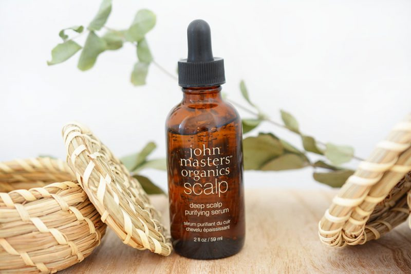 sérum purifiant cuir chevelu john masters organics