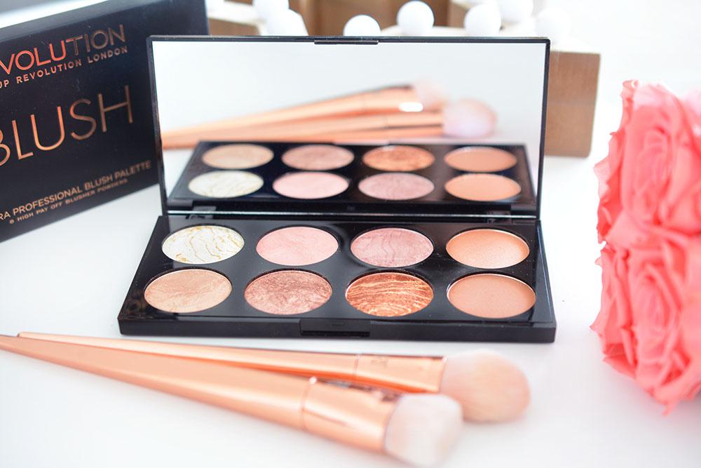 La Ultra Blush Palette de Makeup Revolution : Golden Sugar !