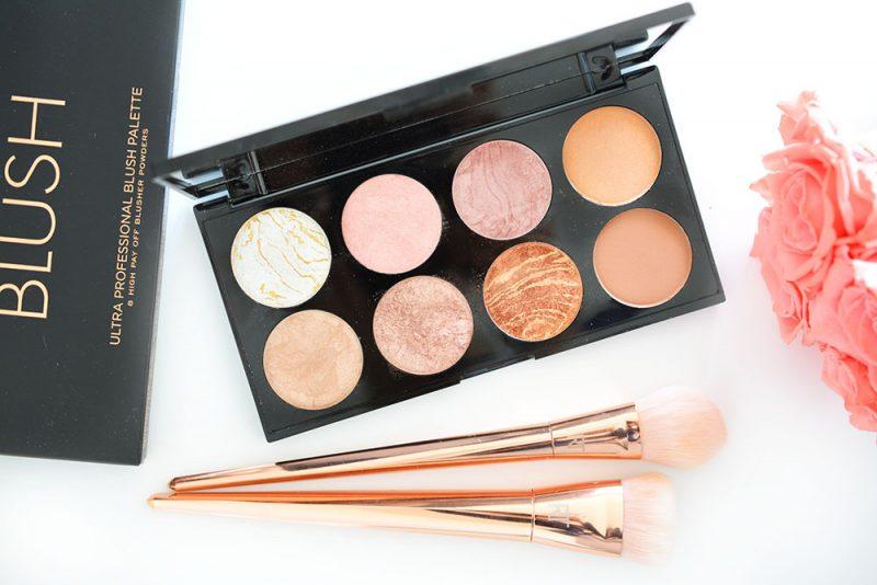 ultra blush palette makeup revolution