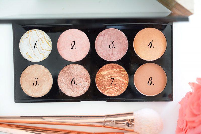 makeup revolution palette blush
