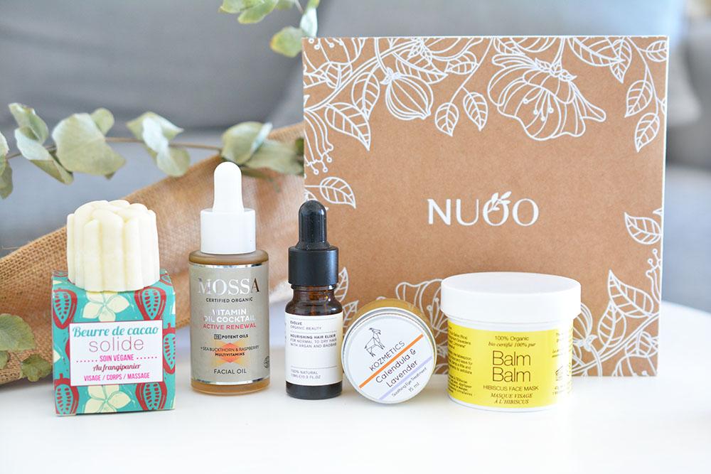 La Nuoo Box de novembre 2017 : une édition très complète !