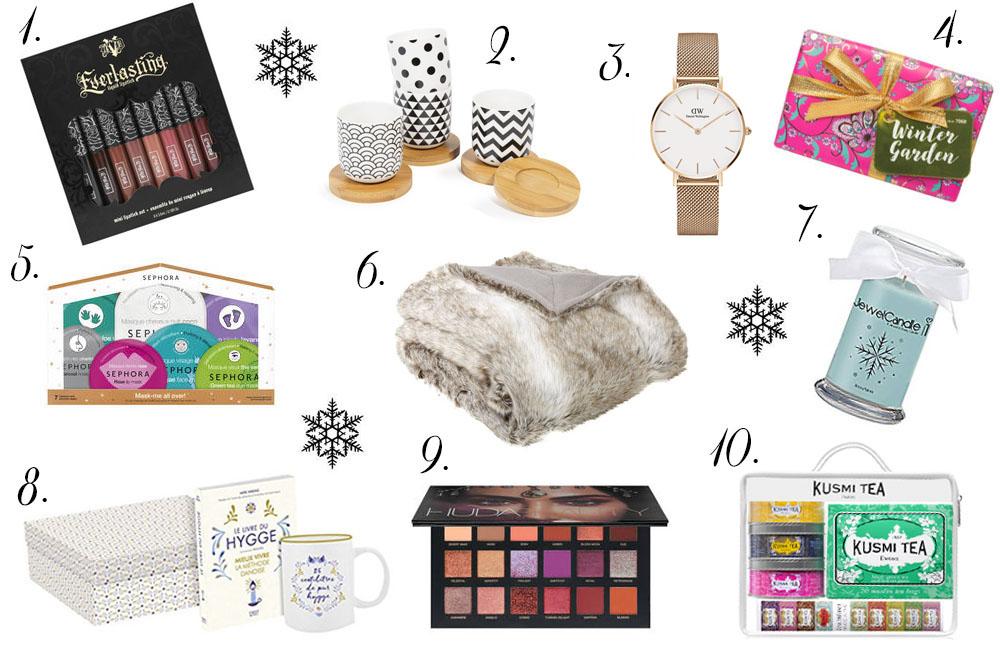 10 id es cadeaux offrir pour no l beaut accessoires. Black Bedroom Furniture Sets. Home Design Ideas