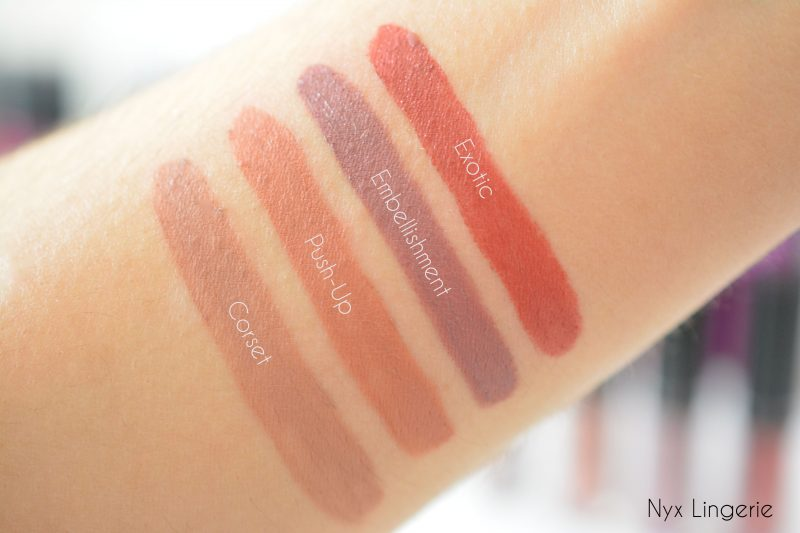nyx lingerie swatch