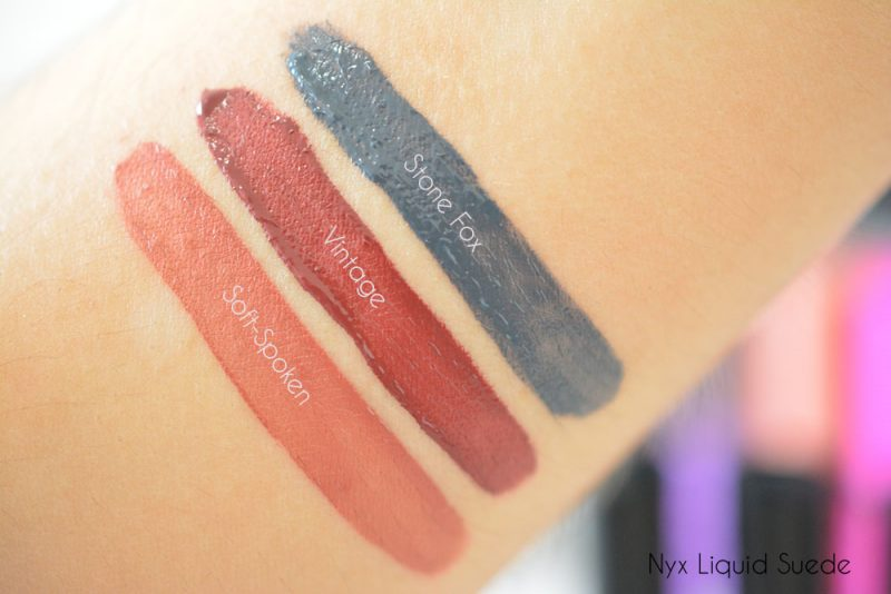 liquid suede nyx swatch