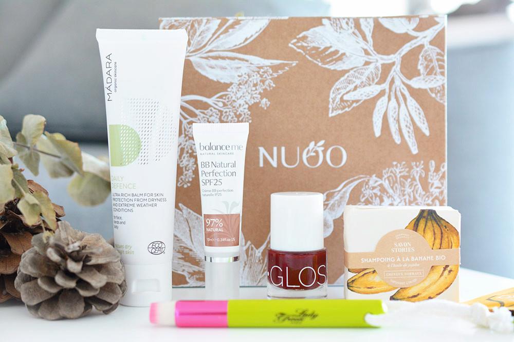 La Nuoo Box de décembre 2017 : on finit l'année en beauté ! (+concours)