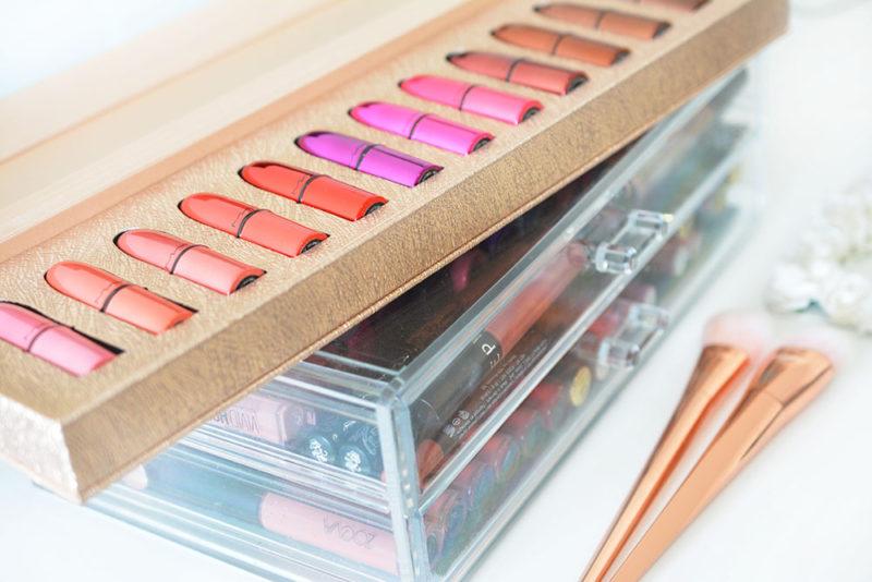 Le Magnifique Coffret De 12 Minis Rouges à Lèvres Mac