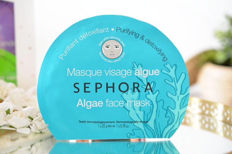 masque tissu algue sephora