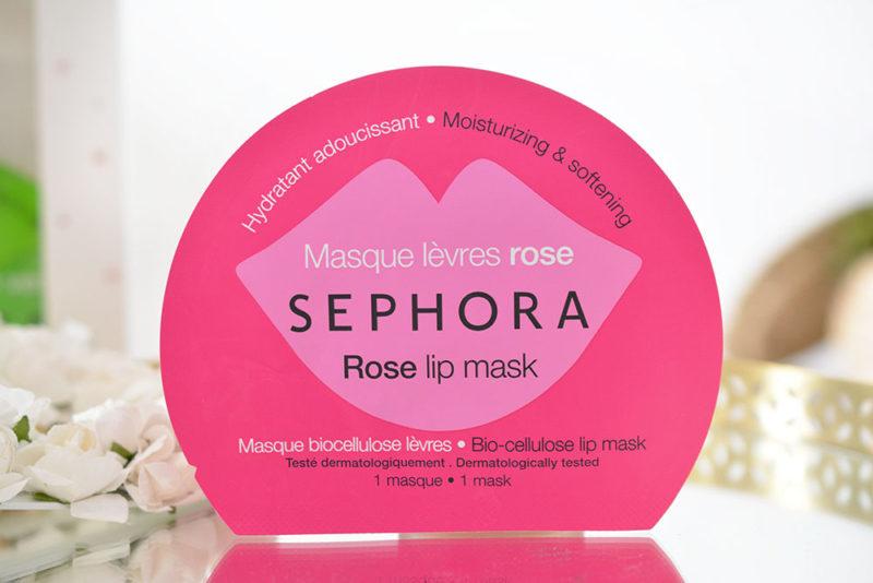 masque tissu lèvres rose sephora