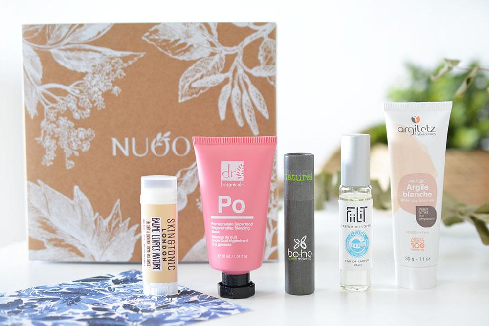 La Nuoo Box de janvier : on commence l'année en beauté !