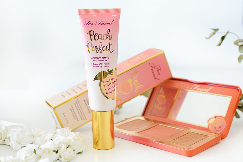 Le nouveau fond de teint Peach Perfect de Too Faced : mon avis !