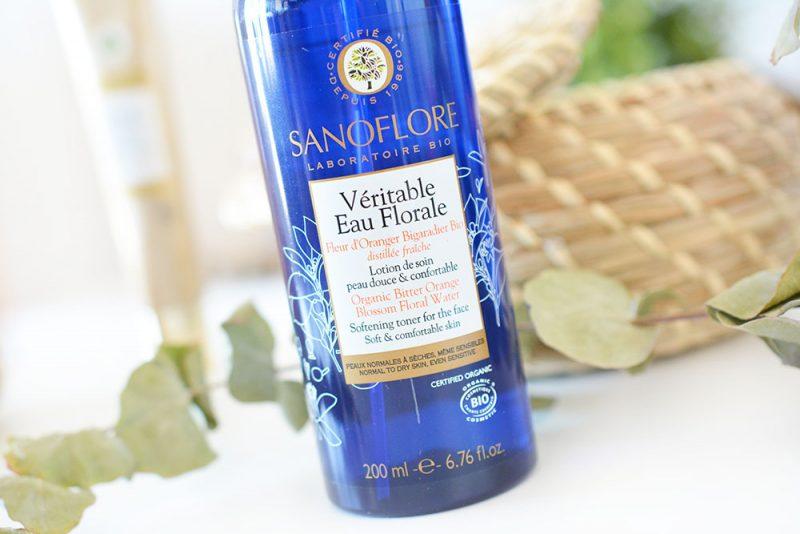 eau florale à la fleur d'oranger sanoflore