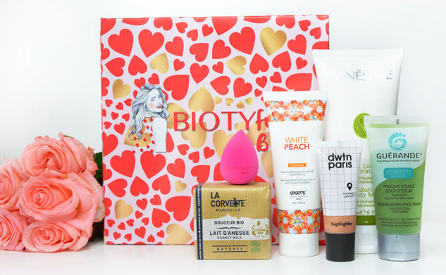 La Biotyfull Box de février 2018 : L'Amoureuse !