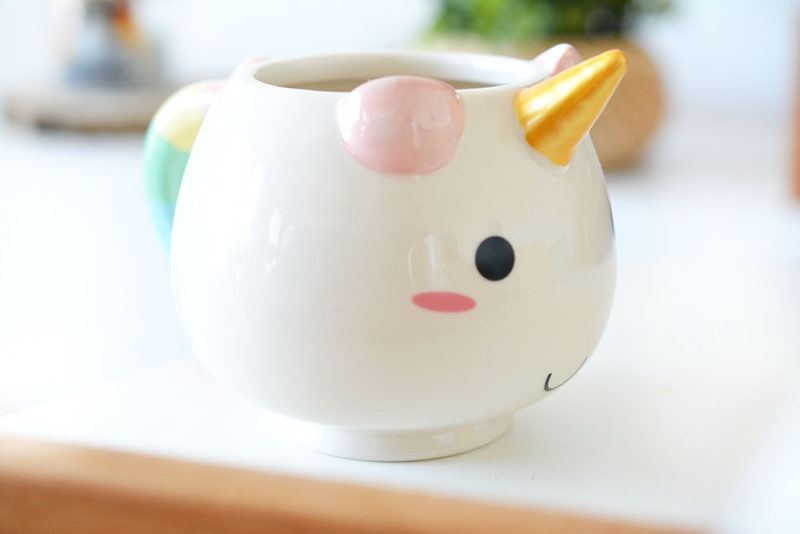 cadeaux folies tasse licorne