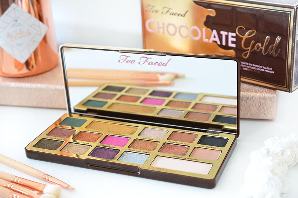 La Chocolate Gold de Too Faced : revue détaillée (+concours)