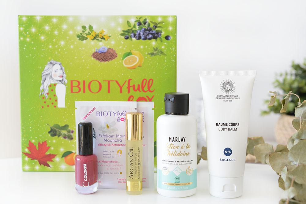 Biotyfull Box nous donne un coup de pouce pour le mois de mars !