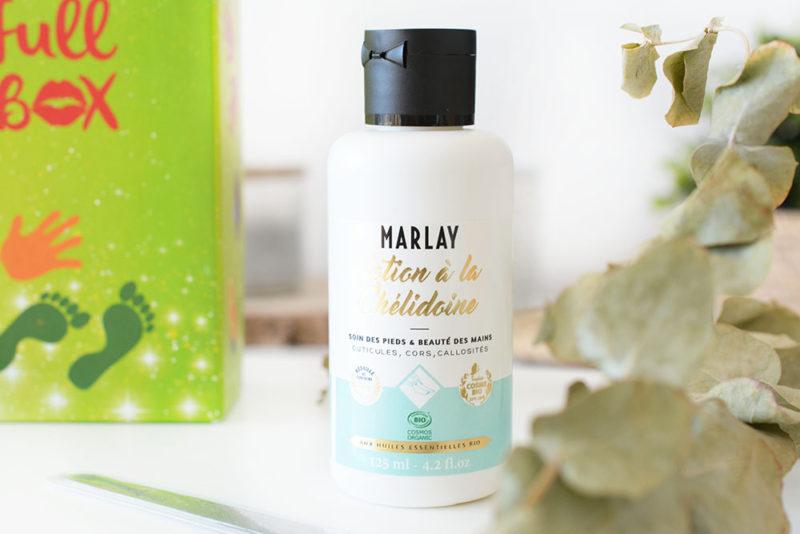 marlay lotion à la chelidoine
