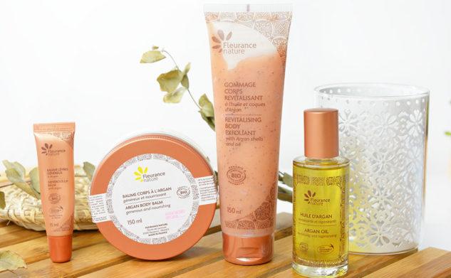La nouvelle gamme à l'huile d'argan Fleurance Nature !