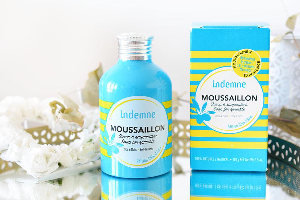 Moussaillon, le savon à saupoudrer de la marque Indemne !