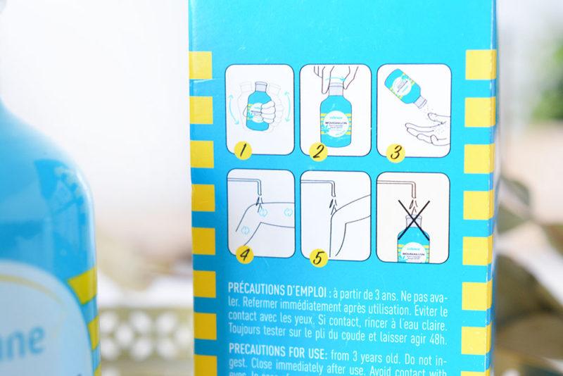 savon a saupoudrer moussaillon indemne